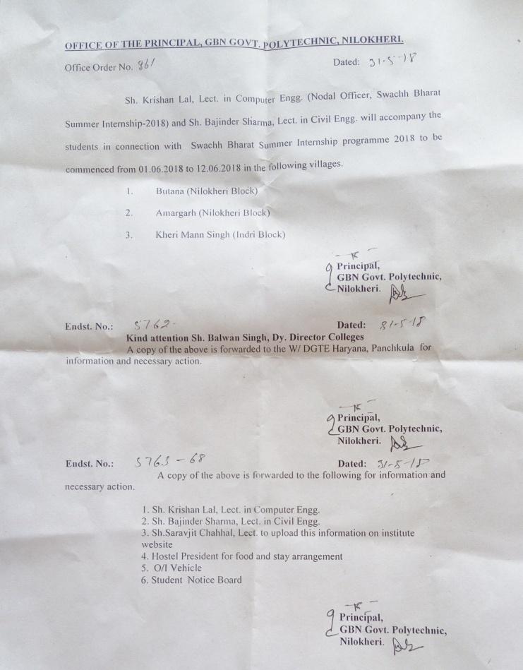 Govt  Polytechnic Nilokheri